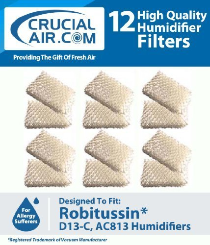 12-robitussin-humidifier-replacement-wick-filter-compare-to-part-ac-813-ac813-ac-813-d13-c-d13c-d13-