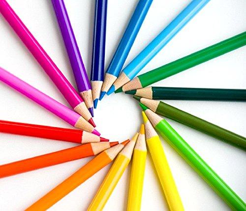 Colored Pencils 24 Color Art Drawing For Secret Garden Coloring Books Set Of