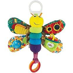 """Lamaze Baby Spielzeug """"Freddie, das Glühwürmchen"""" Clip & Go - hochwertiges Kleinkindspielzeug - Greifling Anhänger zur Stärkung der Eltern-Kind-Beziehung - ab 0 Monate"""