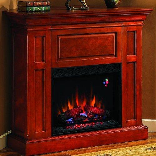 Metropolis 42-inch Electric Fireplace - Cherry - 23dm159 picture B005T09DJ0.jpg