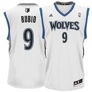 NBA adidas Ricky Rubio Minnesota Timberwolves Revolution 30 Replica Performance... by adidas