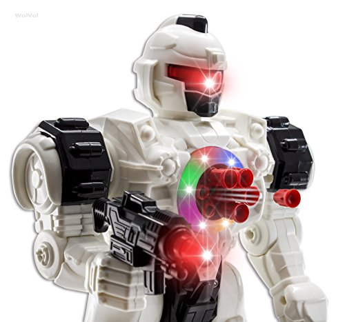 WolVol-10-Channel-Remote-Control-Robot-Police-Toy-with-Flashing-Lights-and-Sounds-Great-Action-Toy-for-Boys