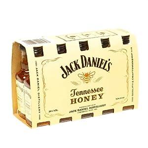 Jack Daniel's Original Recipe Tennessee Honey Liqueur 5cl Miniature - 10 Pack from Jack Daniels
