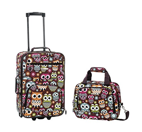 rockland-2-piece-luggage-set-owl-one-size