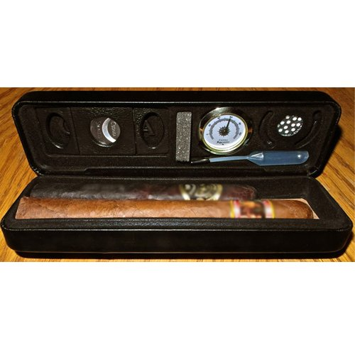 The Original Csonka Pocket Cigar Case with Accessories