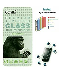 Black Gorilla Premium Tempered Glass For Micromax Canvas 5 E481