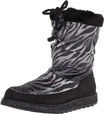 Skechers Women's Keepsakes-Animal Slouch Snow Boot, Zebra