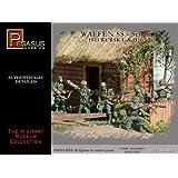 Waffen SS Soldiers Set #1 (46) (Plastic Kit) 1-72 Pegasus