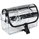 Vinyl Clear Travel BAG Cosmetic Carry Case Toiletry