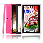 iRulu X1s HD TFT Display, 4*1.5GHZ Quad core, 7 inch Google Android 4.4 Tablet, Dual Camera, Google Play Pre-load, 8GB Storage (White)