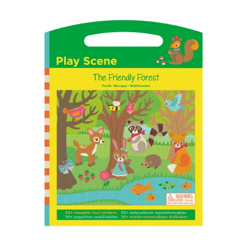 Mudpuppy The Friendly Forest Play Scene