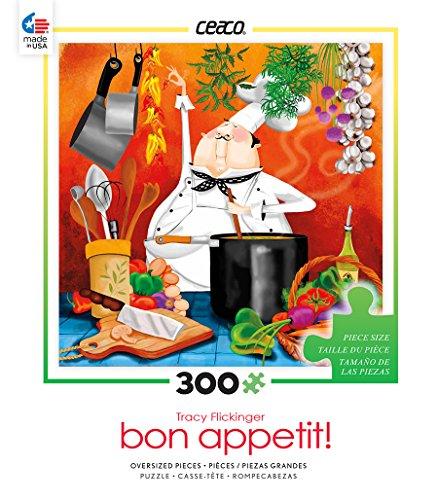 Ceaco Bon Appetit - Chef in Kitchen 2015 Puzzle
