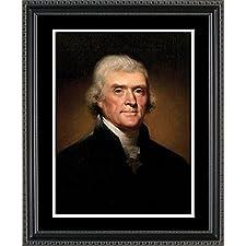Thomas Jefferson Framed Art