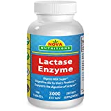 Lactase Enzyme 3000 FCC ALU 180 Tablets by Nova Nutritions