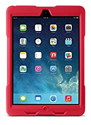Kensington BlackBelt 1st Degree Rugged Case for iPad Air - Red (K97075WW)