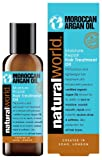 Natural World Moroccan Argan Oil Moisture Repair Hair Treatment Oil 100ml