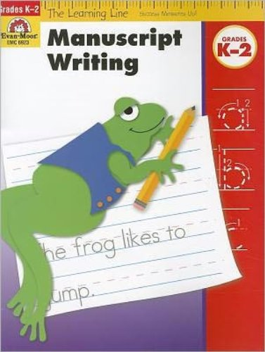 Evan-Moor Educational Publishers 6923 Learning Line - Manuscript Writing - 1