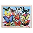 Melissa & Doug Butterfly Garden Wooden Jigsaw Puzzle (48 Pieces)