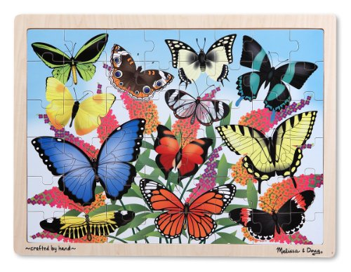 Melissa-Doug-Butterfly-Garden-Wooden-Jigsaw-Puzzle-48-Pieces