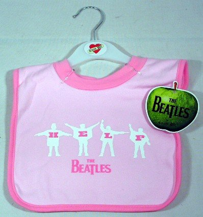 The Beatles Help Baby Bib - 1