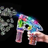 German Trendseller® - LED Seifenblasen Pistole ┃ Light UP...