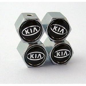 KIA Anti-theft Car Wheel Tire Valve Stem Caps