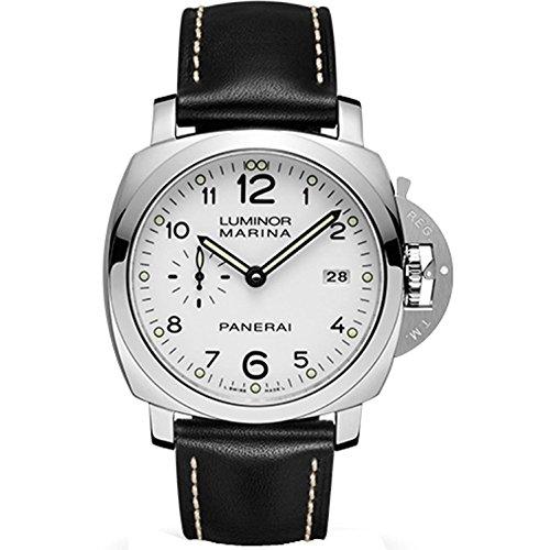 panerai-luminora-marina-1950-homme-bracelet-cuir-noir-boitier-acier-inoxydable-automatique-montre-pa