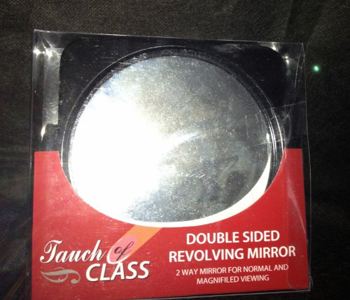 Ladies/Mens Double Sided Revolving Cosmetic Shaving Bathroom Mirror,NEW!