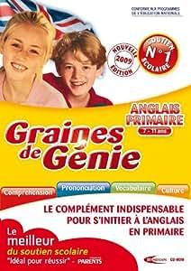 Graines de génie anglais primaire 2009/2010