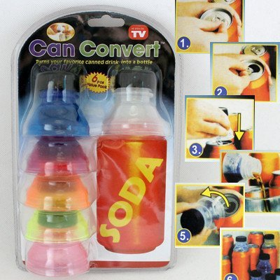 CAN CONVERT - TURN SODA CANS INTO CANS WITH BOTTLE TOPS (Can Convert compare prices)
