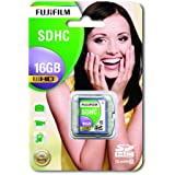 Fuji Secure Digital High Capacity 16GB Class 10 Flash Card