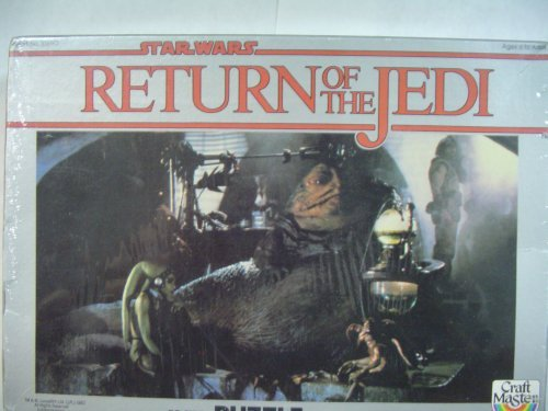 Return of the Jedi 70 piece Jabba the Hutt Throne Room jigsaw puzzle - 1