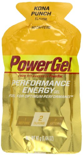 Powerbar Powergel, Kona Punch, 1.44 -Ounce Packets (Pack Of 24)