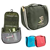 New Men Women's Hot Portable Travel Cosmetic Case Makeup Toiletry Wash Storage Hanging Bag Green