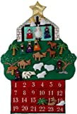 Kubla Crafts Nativity Fabric Advent Calendar