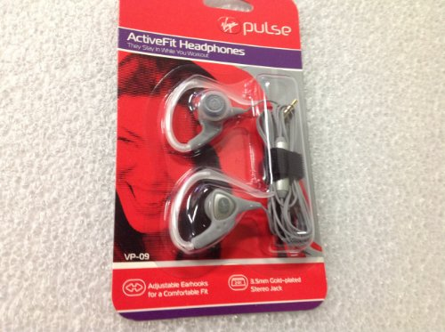 Virgin Pulse Active Fit Headphones - Vp09