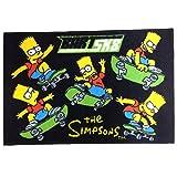 The Simpsons シンプソンズ (Bart SK8-BLK)  フロア カーペット マット シンプソンズ グッズ