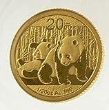 2010 GOLD PANDA 1/20 OZ COIN UNCIRCULATED