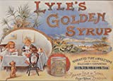 S1656 SMALL LYLE'S GOLDEN SYRUP METAL ADVERTISING WALL SIGN
