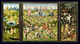 Hieronymus Bosch Art Print, The Garden of Earthly Delights, c.1500 (26 x 40cm Art Prints/Posters)