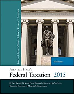 Prentice Hall's Federal Taxation 2015 Individuals Plus NEW MyAccountingLab With Pearson EText -- Access Card Package (28th Edition)