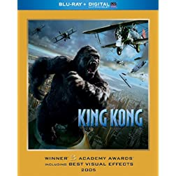King Kong (Blu-ray + Digital with UltraViolet)