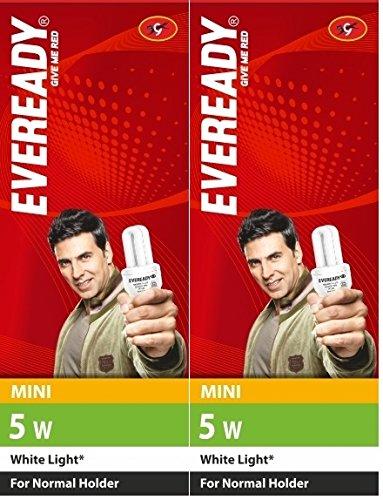 Eveready-Mini-5W-CFL-Bulb-(White-and-Pack-of-2)