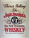 Large JACK DANIELS WHISKEY No 7 Vintage Retro Metal Tin Wall Plaque Sign 832