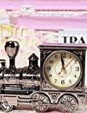 ZQY Retro Nostalgia Locomotive Alarm Random Color , multi color