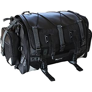 タナックス(TANAX)モトフィズ キャンピングシートバッグ2 /ブラック MFK-102 可変容量59-75ℓ