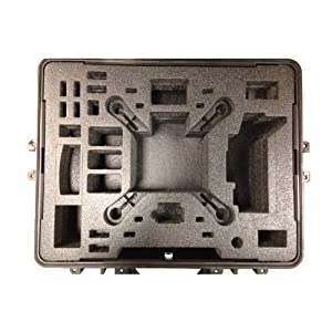 DJI Phantom 2 / 2 Vision Hard Case. Military Spec Carrying Case for Quadcopter & Accessories