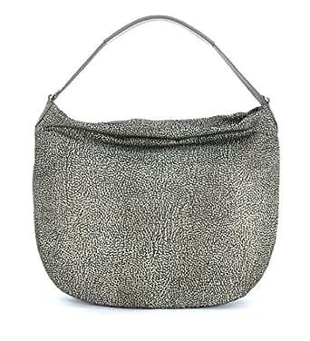 Amazon.com: Borbonese - Borse a tracolla - Tortora: Clothing