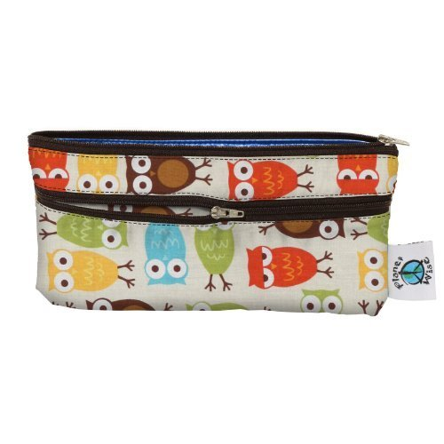 Planet Wise Travel Wet/Dry Diaper Bag, Owl
