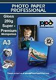 A3 Inkjet Photo Glossy Paper - Super Premium - 280gsm x 50 sheets